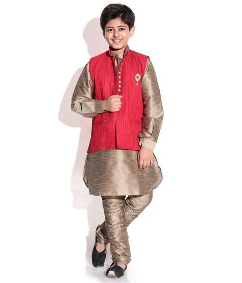 riwaaz cream mehroon color kurta pajama set with jacket riwaaz red khaki color kurta pajama set with jacket for
