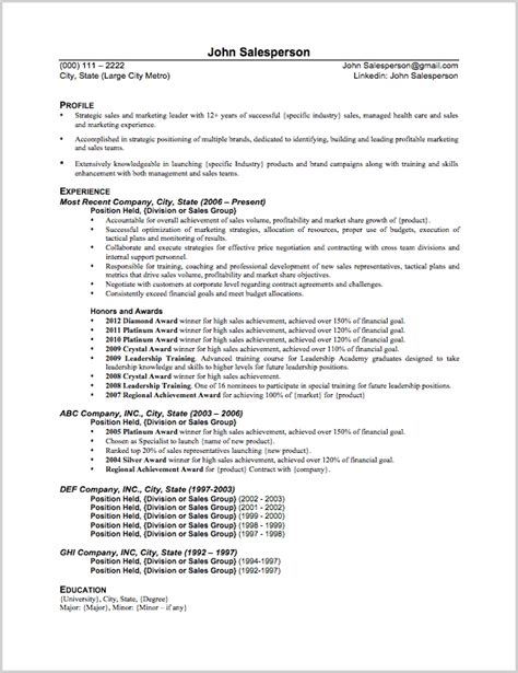 senior vice president of sales resume 28 images sle