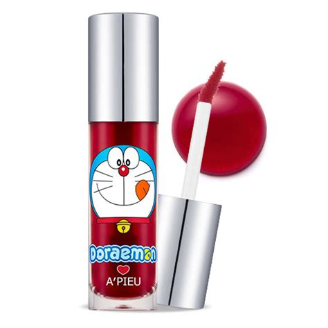 Apieu Lasting Lip Tint Doraemon Edition apieu jelly marmalade doraemon edition cherry apieu lip tint shopping sale koreadepart