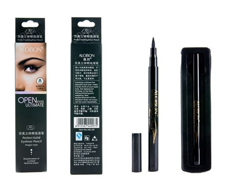 New Ql Eyeliner Spidol aliexpress buy 2016 new alobon black lasting waterproof automatic liquid eyeliner