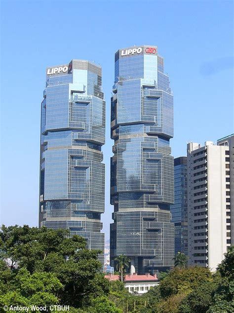 lippo section lippo centre complex the skyscraper center