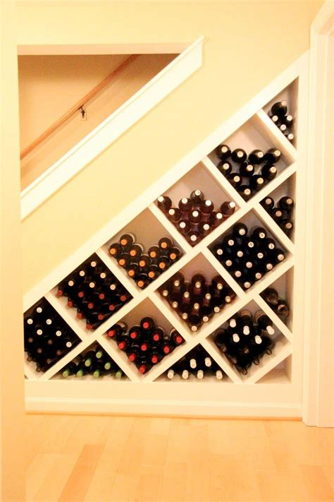 under stairs wine storage how to build a wine rack under stairs woodworking