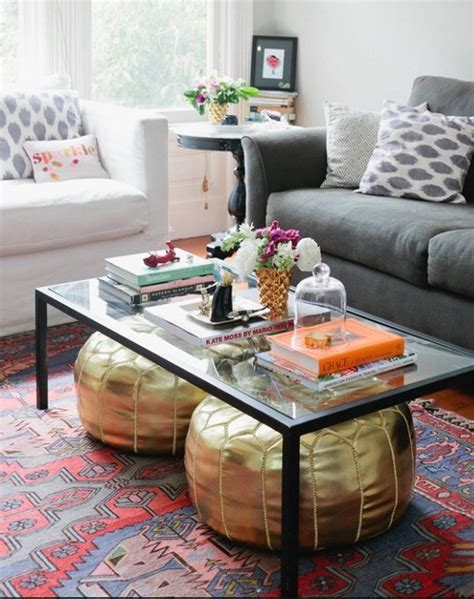 what to put on end tables storage space under the coffee table 27 ideas digsdigs