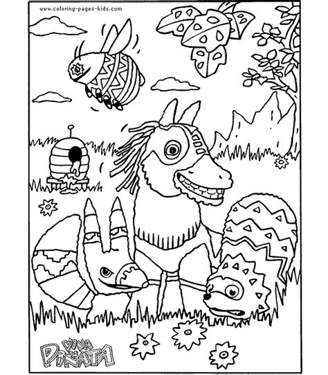 color page cartoon characters coloring pages color plate
