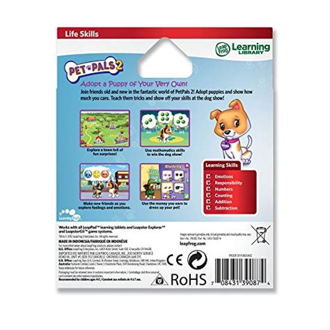 puppy pals dvd release date leapfrog explorer pet pals 2 best of friends for leappad and leapster at shop