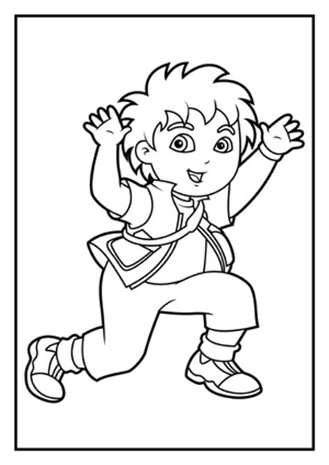 free coloring pages dora and diego dora coloring pages diego coloring pages