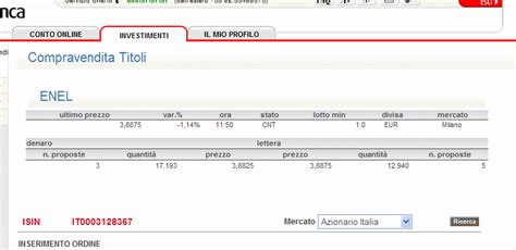 unicredit servizi on line trading da unicredit forum di finanzaonline