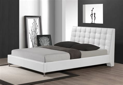 modern upholstered headboard duncombe black modern bed with upholstered headboard