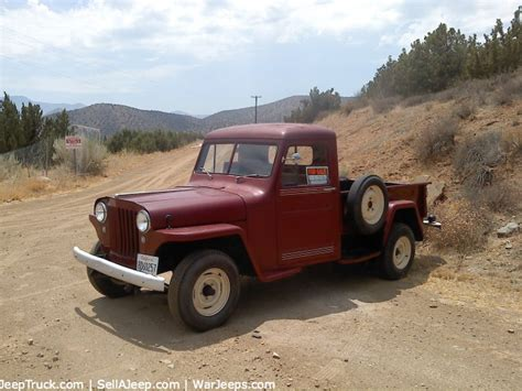 jeep truck parts used jeeps and jeep parts for sale 1957 willys truck