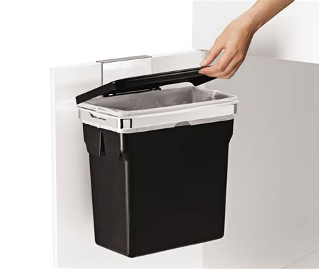 Kitchen Garbage Can Cabinet by Simplehuman Cabinet Trash Can Door Mounted