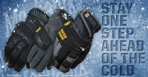 we can stay one step ahead of the mechanix wear stay one step ahead of the cold