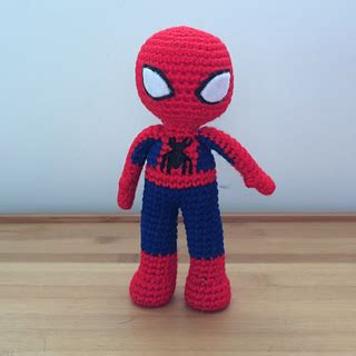 spiderman plush pattern ravelry spider man amigurumi doll pattern by clare heesh