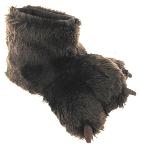 gorilla slippers womans animal claw gorilla novelty