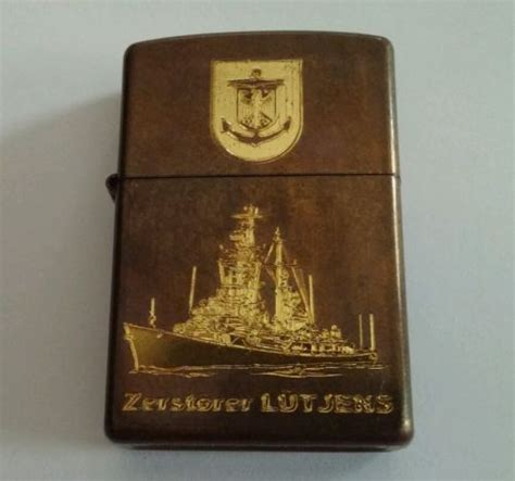 vintage flying shears zippo lighter boxed ebay 2001 zippo lighter antique finish lutjens military navy