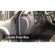 Interior Fuse Box Location 2007 2013 Chevrolet Silverado 1500  2008