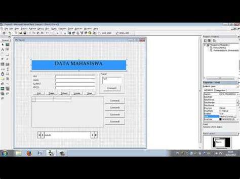 tutorial visual basic database tutorial mencari data dalam database menggunakan visual