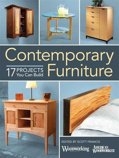popular woodworking sweepstakes contemporary furniture book giveaway