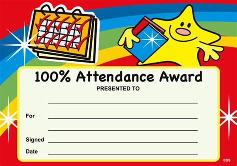 100 attendance certificate template printable birthday certificate pre kpages gift