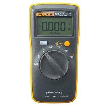 Multimeter Fluke 101 fluke 101 basic digital multimeter pocket portable meter