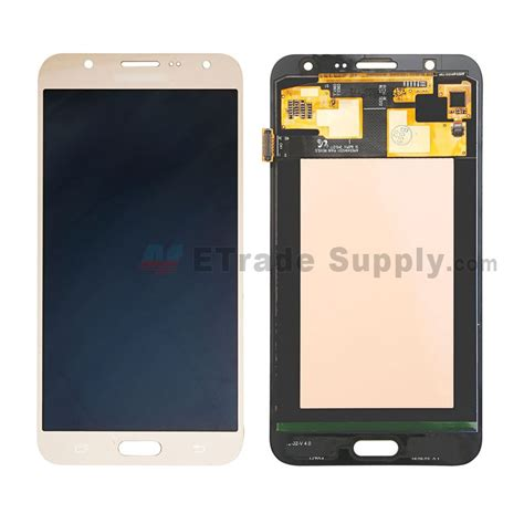 Lcd J7 samsung galaxy j7 sm j700f lcd screen and digitizer assembly white etrade supply