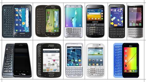 android type android smartphones qwerty keypad touch type physical