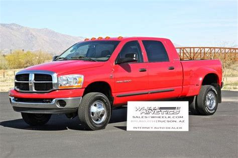 automobile air conditioning service 2006 dodge ram 3500 parking system sell used 2006 dodge ram 5 9l diesel 4x4 manual 6 speed mega cab dually drw 4wd 3500 slt in