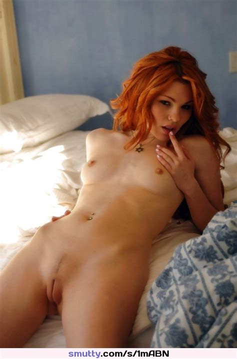 Redhead Lyingonbed Cometobed Sultry Hot Longhair Smallbreasts Natural Naked Sexy