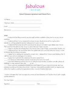 consent form eyelashes fill online printable fillable