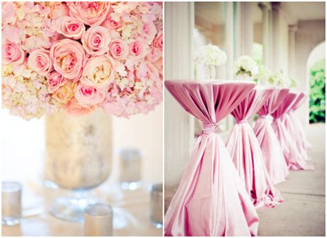 a pink theme wedding for your special day