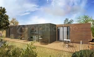 maison container plan de moderne par archionline
