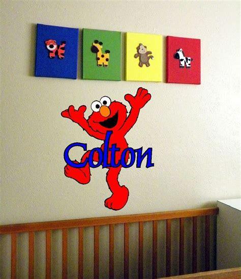 elmo wall stickers wall decal elmo wall decals sesame wall mural elmo stickers walmart size