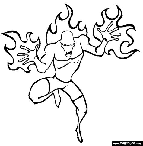 superhero villain coloring page online coloring pages starting with the letter i