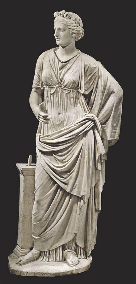 ancient roman women sculptures a roman marble draped female circa 1st 2nd century a d