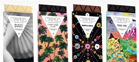 Compartés Chocolate Packaging Design   AterietAteriet   Food Culture