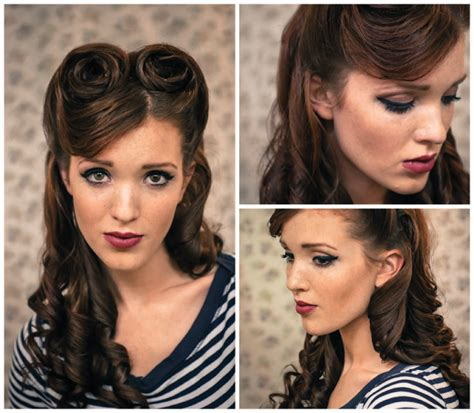 17 best images about retro vintage hair styles on 17 vintage hairstyles with tutorials for you to try