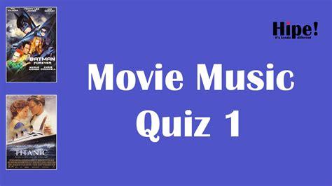 movie themes music quiz 1 movie music quiz 1 youtube