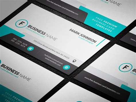 creative business card templates free simply tantalizing creative business card template 187 free