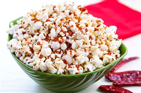 spicy popcorn resep  dapur kobe