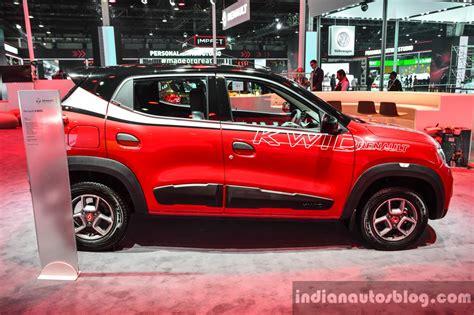 renault kwid red renault kwid custom at auto expo 2016 indian autos blog