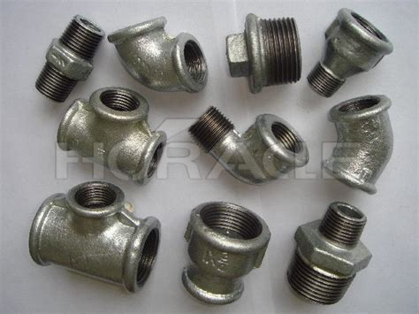 china galvanized black malleable iron pipe fittings
