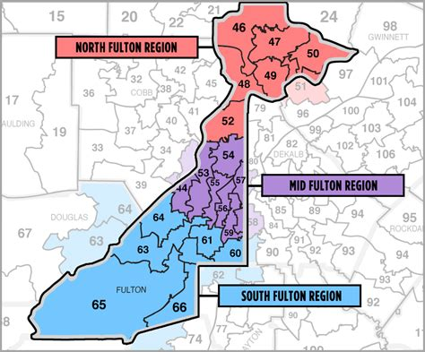 map of fulton county find your region fulton county democrats