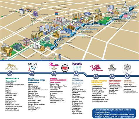 map usa las vegas las vegas hotels and casinos map