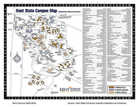 printable map kent kent state current all purpose map 2004 flickr photo