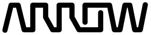 Arrow electronics logo black white and yellow living room ideas