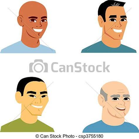 caricaturas chistosas de hombres imagui clipart vecteur de portrait dessin anim 233 homme avatar