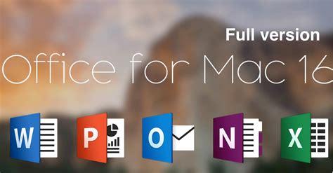 Microsoft Office For Mac microsoft office 2016 for mac torrent