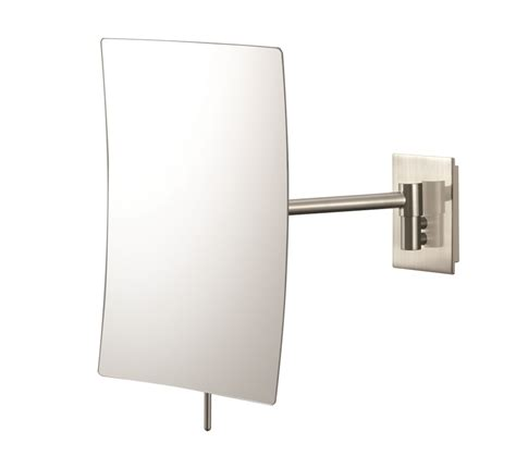 wall mounted makeup mirror rectangular 3x in wall mirrors wall mount vanity mirrors kessler living hotel store
