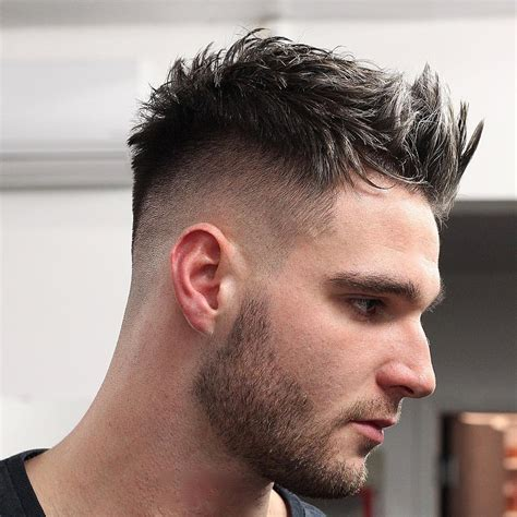 hairstyles for men short top spiky and longer back 80 new hairstyles for men 2017