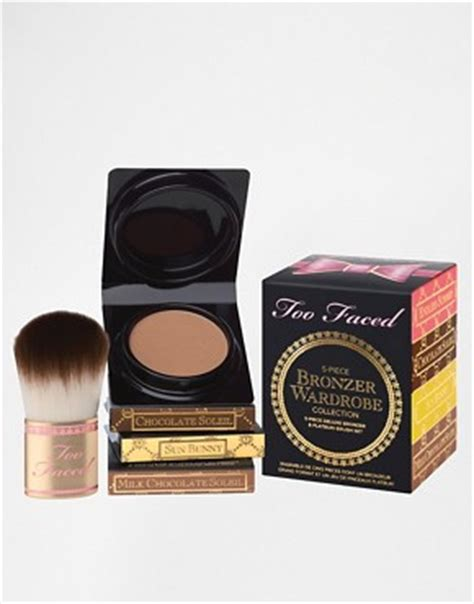 Build Your Bronzer Wardrobe by Faced Cosmetics Faced Bronzer Wardrobe At Asos