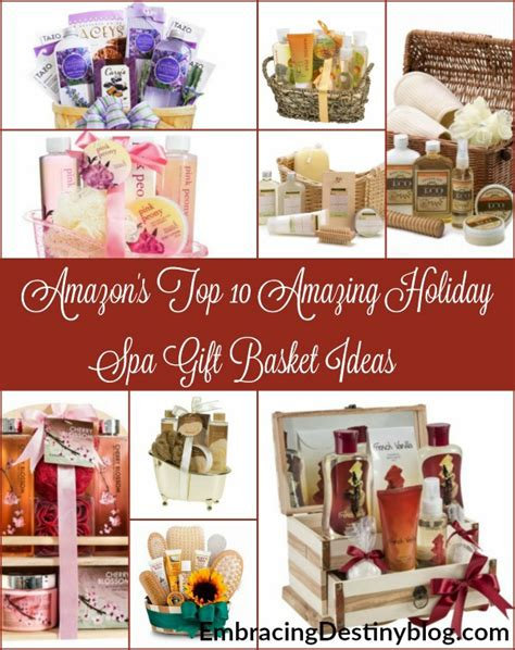 top 10 amazing holiday spa gift basket ideas from amazon